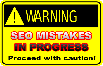 SEO simple mistakes
