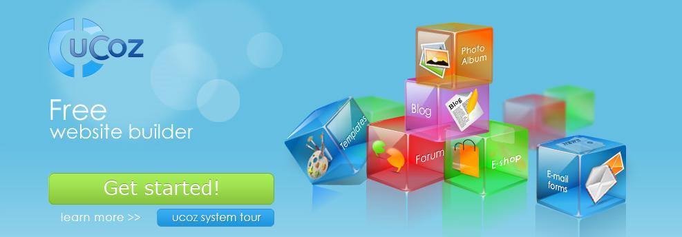 uCoz -Free website maker