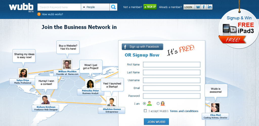 Wubb - The Social Business Networking