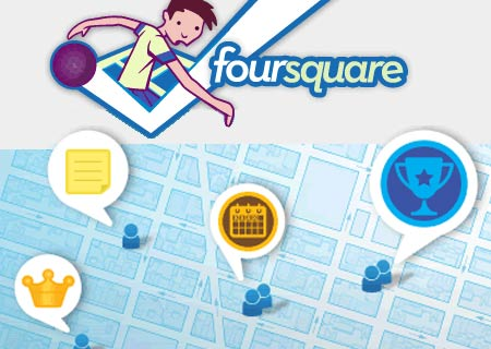 social networking tips by Foursquare