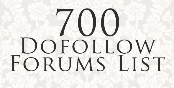 Dofollow Forums