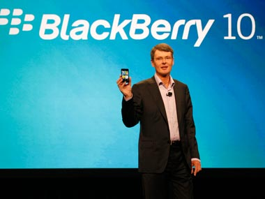 New Blackberry 10 Launched Without Keyboard