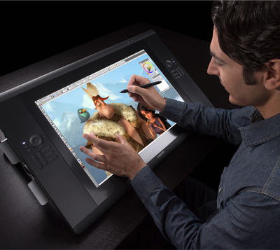 how to put together cintiq