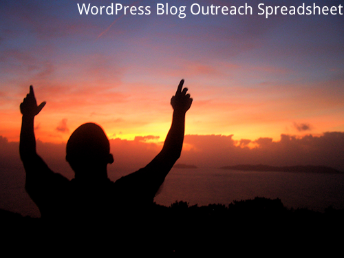 promote wordpress blog