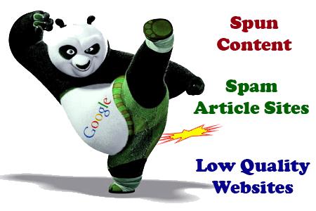 google panda update effects