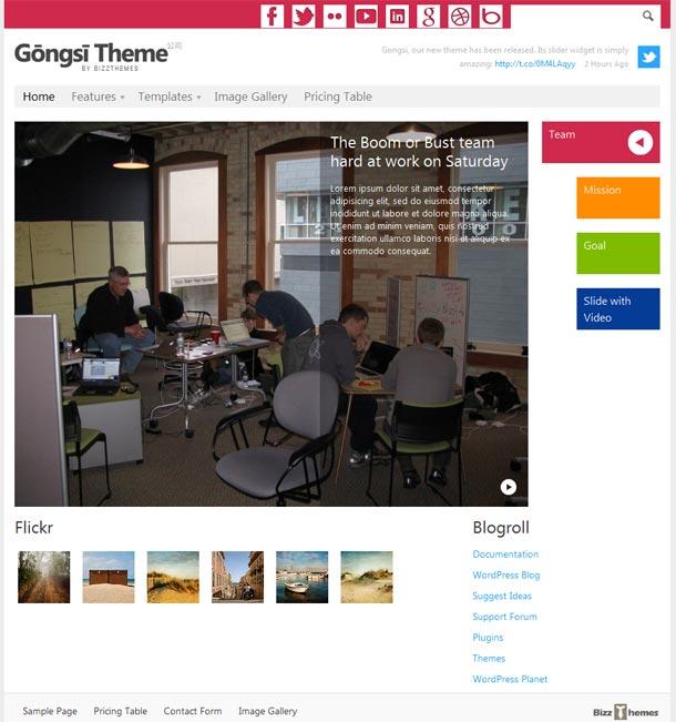 Gongsi-WordPress-Theme-from-BizzThemes