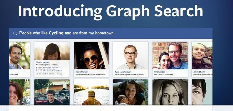 Facebook declares Graph Search