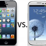 Samsung SIII vs iPhone 5