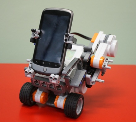 cell phone apps controlling your robots