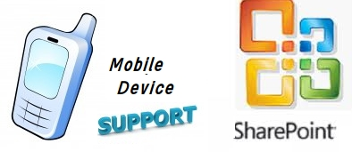sharepointsupport in mobiledevice