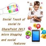 socialmedia and sharepoint