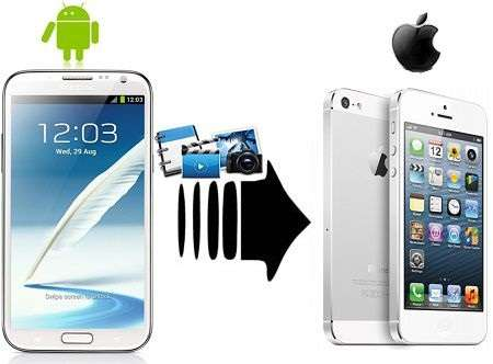 Ways to Transfer Data from Android to iPhone