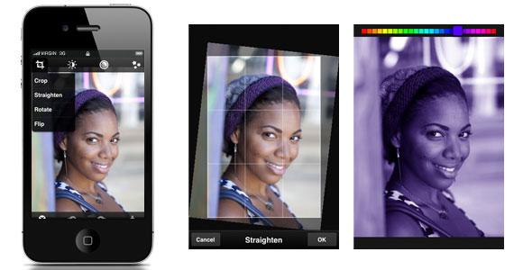 5. Adobe Photoshop Express