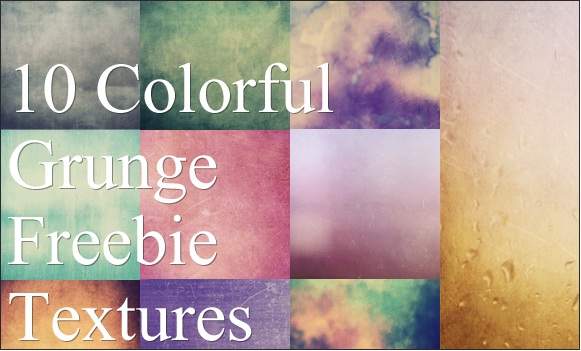 Colorful Grunge Textures