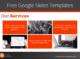 Free Google Templates