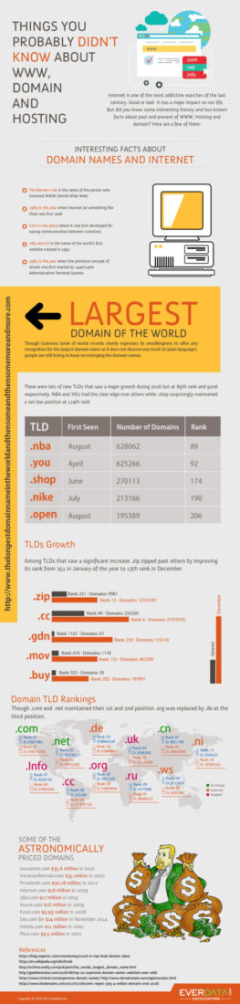 Things you probably didn't know about WWW, domain and hosting