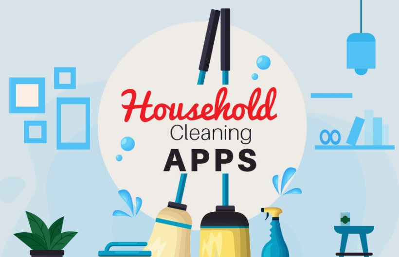 household cleaning apps